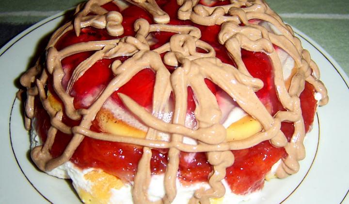 Jak udělat ovocný nepečený dort | recept